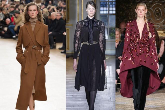 Les plus belles couleurs de la mode automne 2017