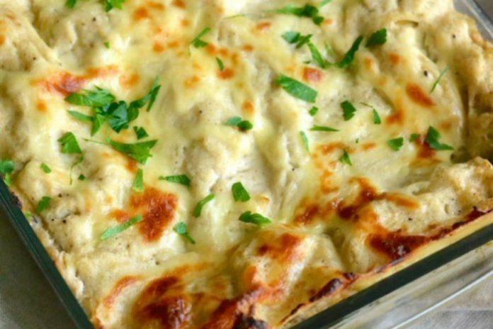 Comment faire des lasagnes avec des chou-fleur et du poulet